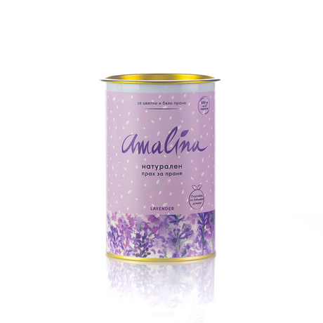 Natural color safe washing powder with lavender aroma