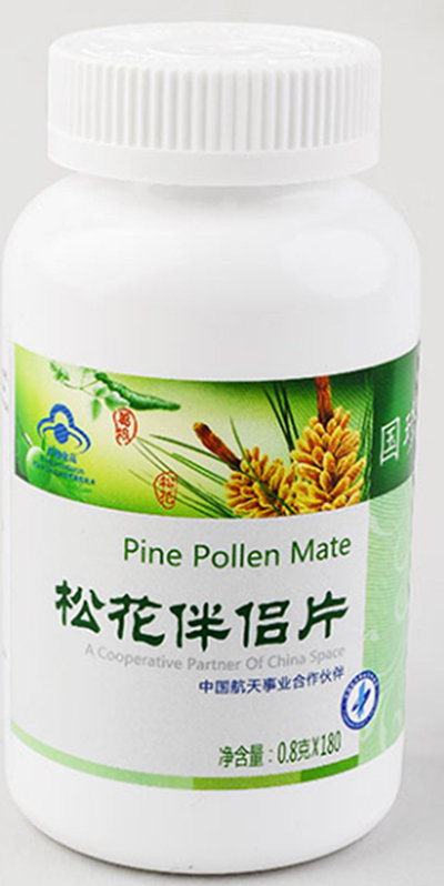 "Pine pollen for liver protection ""GUOZHEN"" 180 Tablets"